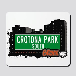 Crotona Park South, Bronx, NYC Mousepad