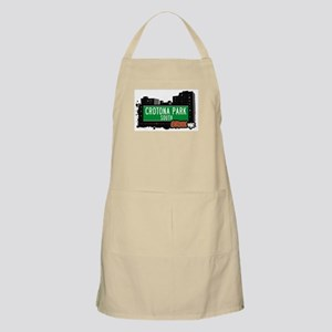 Crotona Park South, Bronx, NYC BBQ Apron