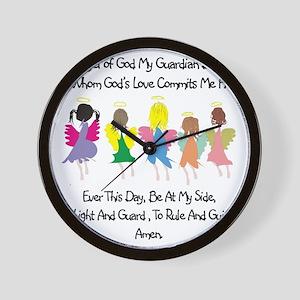 Childs Catholic Prayer Wall Clock