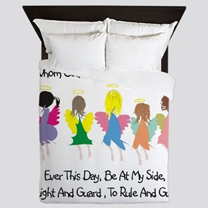 Childs Catholic Prayer Queen Duvet