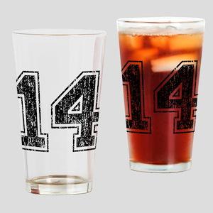 Retro 14 Drinking Glass