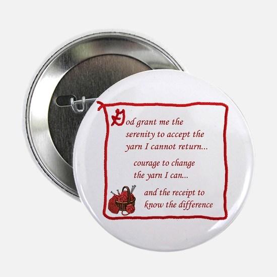 Yarnaholic prayer Button