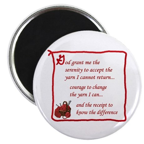 "Yarnaholic prayer 2.25"" Magnet (10 pack)"