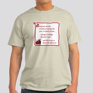 Yarnaholic prayer Light T-Shirt