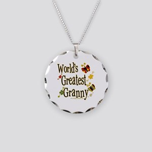 Butterflyworldsgreatestgranny copy Necklace Ci