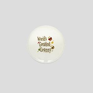 Butterflyworldsgreatestgranny copy Mini Button