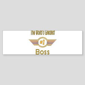 GREENboss Sticker (Bumper)