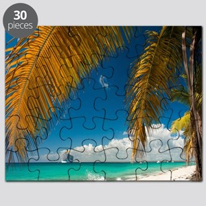 Palm trees cruise Catalina Island - Copy (3 Puzzle