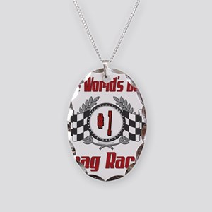 Racing1DRAGRACER Necklace Oval Charm