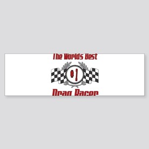 Racing1DRAGRACER Sticker (Bumper)