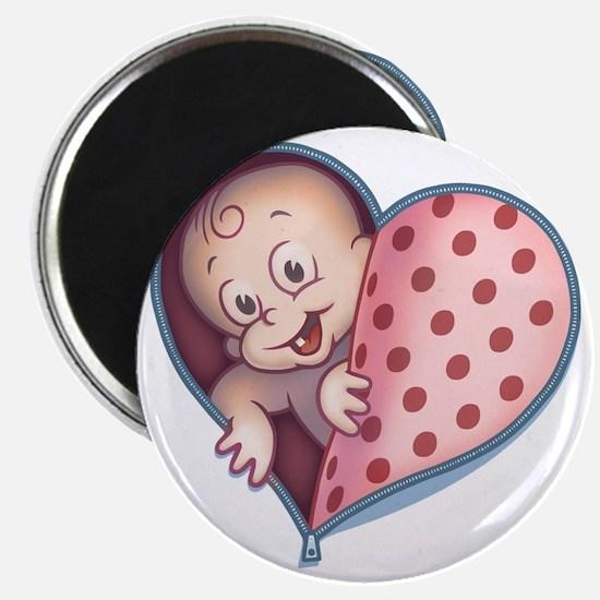 zip-heart-womb-pnkLTT Magnet
