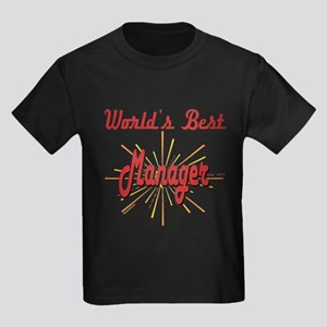 GeatestFireworksManager Kids Dark T-Shirt