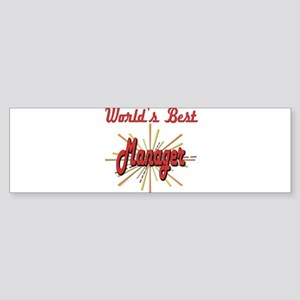 GeatestFireworksManager Sticker (Bumper)