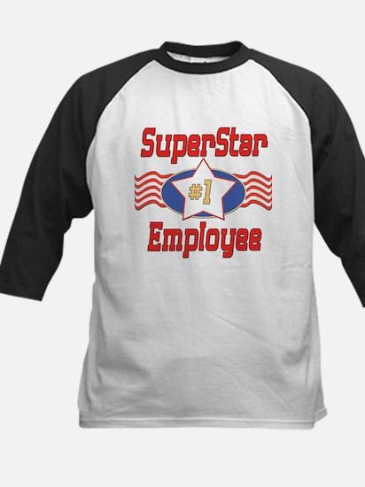 SUPERSTARemployee.png Kids Baseball Jersey