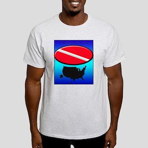 USA Dive Flag Light T-Shirt