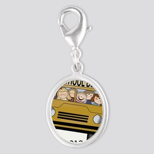 Best Bus Driver 2013 Silver Oval Charm