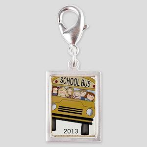 Best Bus Driver 2013 Silver Portrait Charm
