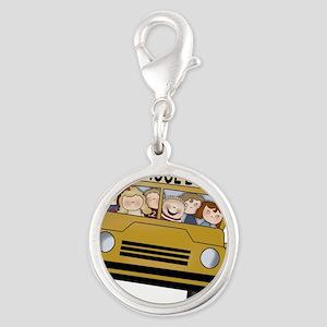 Best Bus Driver 2013 Silver Round Charm