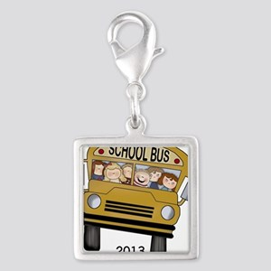 Best Bus Driver 2013 Silver Square Charm