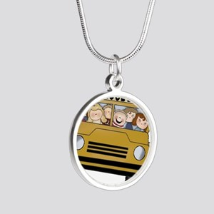Best Bus Driver 2013 Silver Round Necklace