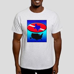Texas Dive Flag Light T-Shirt