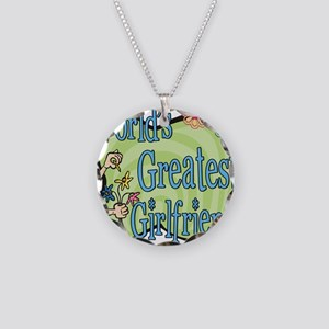Floralworldsgreatestgirlfriend copy Necklace C