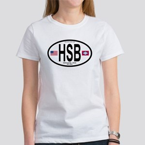 Horseshoe Bend Euro Oval Women's T-Shirt