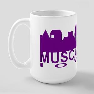 Muscatine Iowa Large Mug
