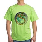 Magic Moon Dragon Green T-Shirt