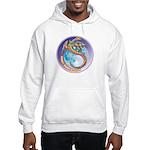 Magic Moon Dragon Hooded Sweatshirt