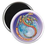 "Magic Moon Dragon 2.25"" Magnet (10 pack)"