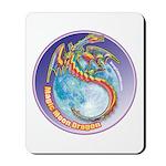 Magic Moon Dragon Mousepad