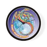 Magic Moon Dragon Wall Clock