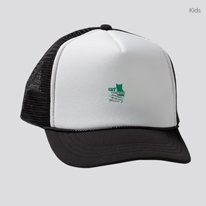Cat Design Kids Trucker hat