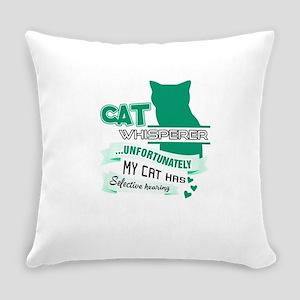 Cat Design Everyday Pillow