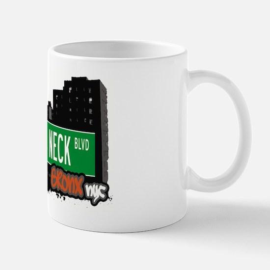 Throggs Neck Blvd, Bronx, NYC Mug