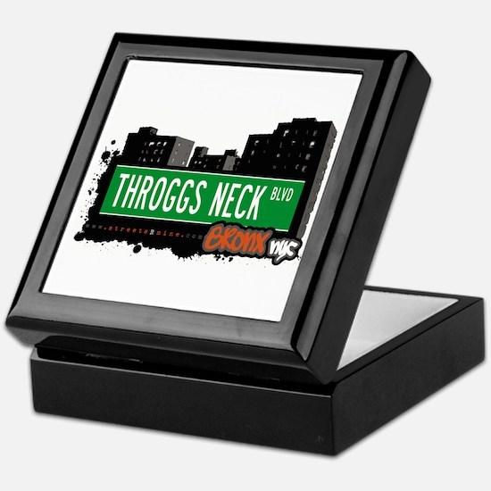 Throggs Neck Blvd, Bronx, NYC Keepsake Box
