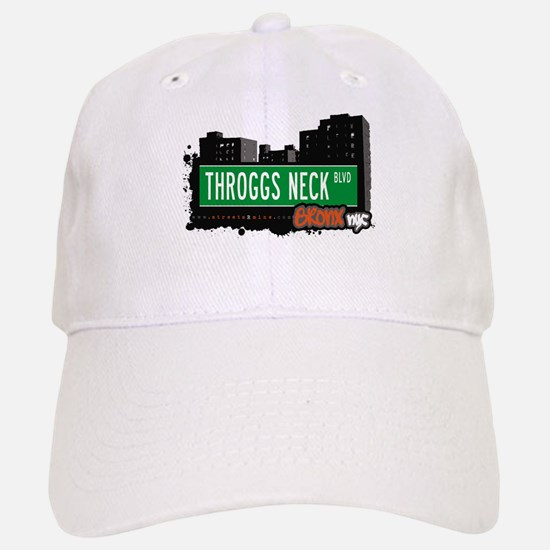 Throggs Neck Blvd, Bronx, NYC Baseball Baseball Cap