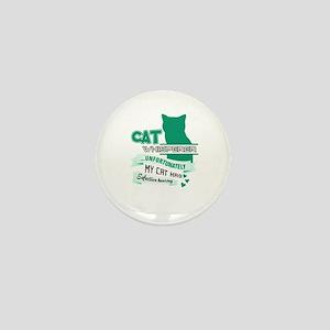 Cat Design Mini Button