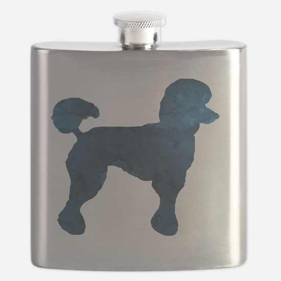 Funny Animal silhouette picture Flask