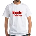 Momster White T-Shirt