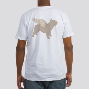 french bulldog wings Fitted T-Shirt