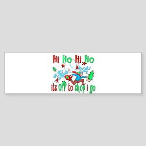 10x10_apparel hihohiho copy Sticker (Bumper)