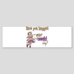 Cowshaveuhugged copy Sticker (Bumper)