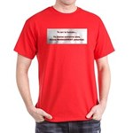Blame others? Management Pote Dark T-Shirt