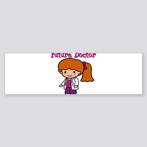 FunnyNewfuturedoctorgirl copy Sticker (Bumper)