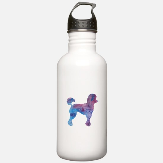 Poodle Water Bottle