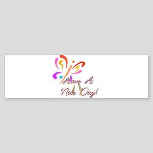 10x10_apparel worldbesthaveniceday Sticker (Bu