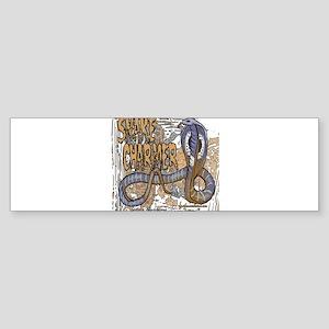 Snakecharmer copy Sticker (Bumper)