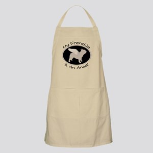 Frenchie Is An Angel BBQ Apron